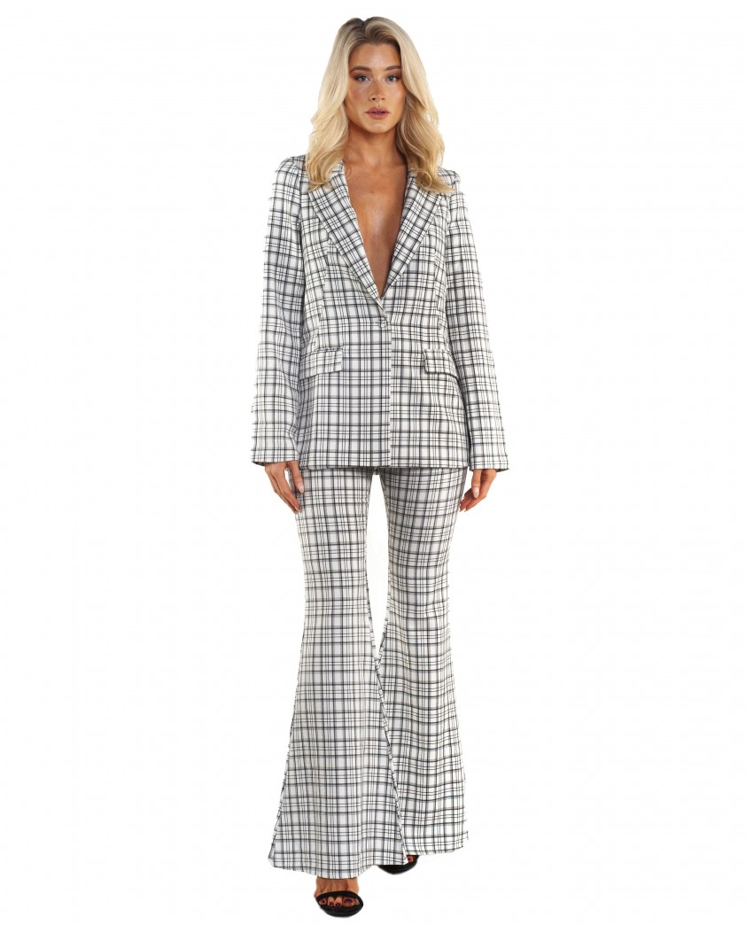 Seven Wonders Amera Co-Ord White Check
