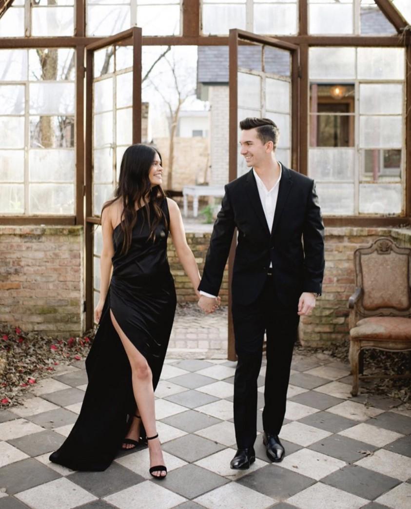 LEXI Black Samira Dress