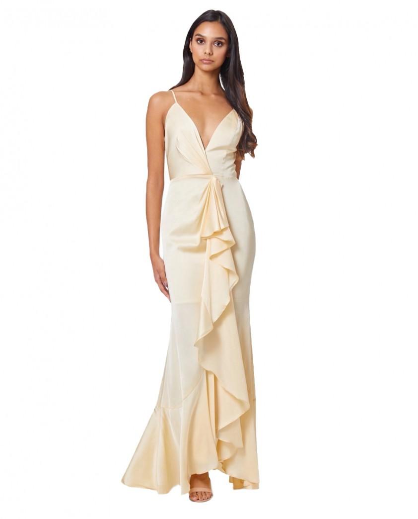 Jarlo Yellow Lily Dress