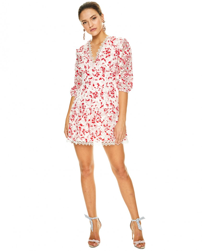 Talulah Red Daisy Dance & Romance Mini Dress