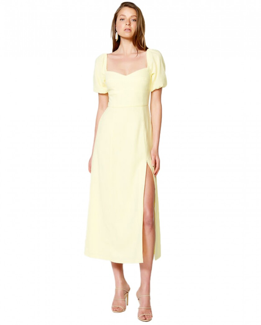Bardot Sun Yellow Jacynta Dress